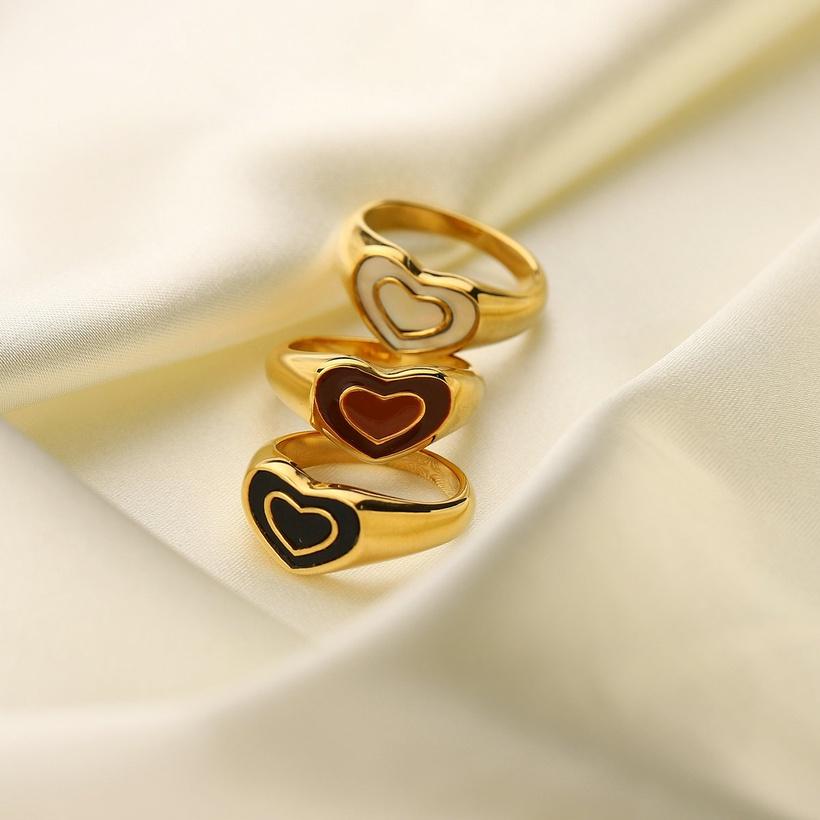 stainless steel heart rings nihaojewelry