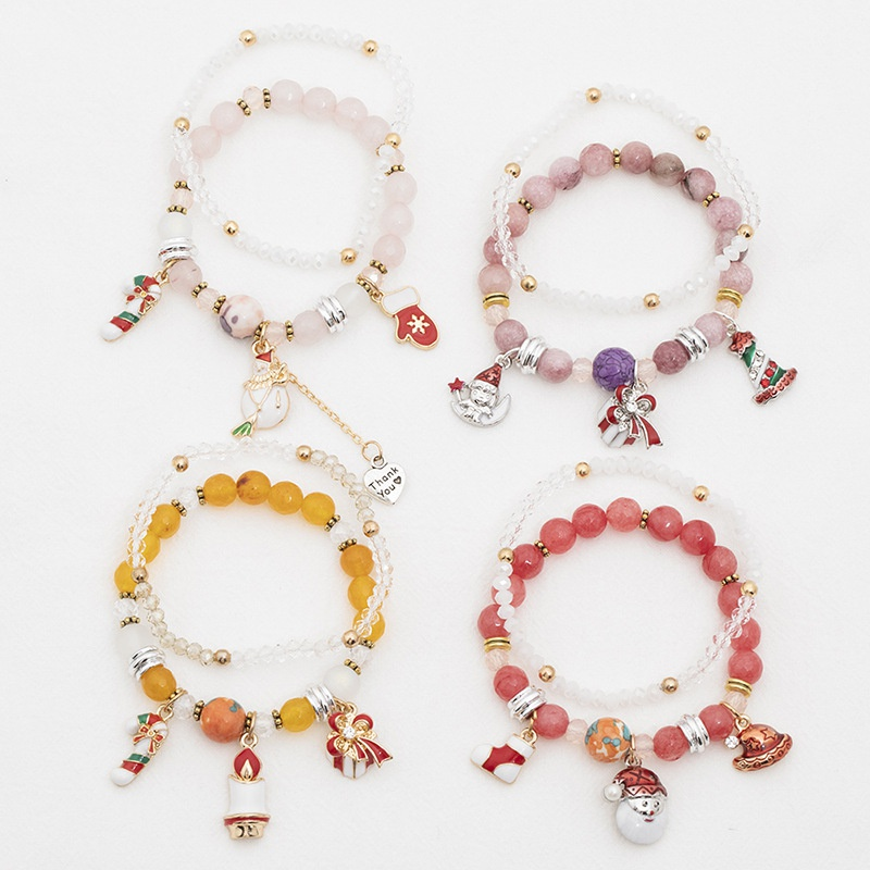 christmas pendant charm bracelets