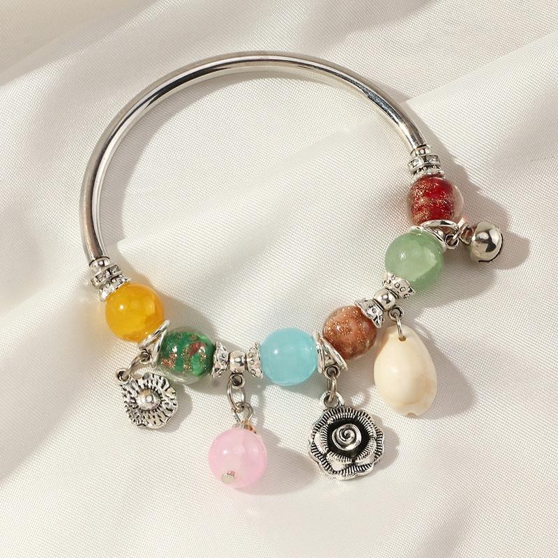 dangle charm bracelet adjustable