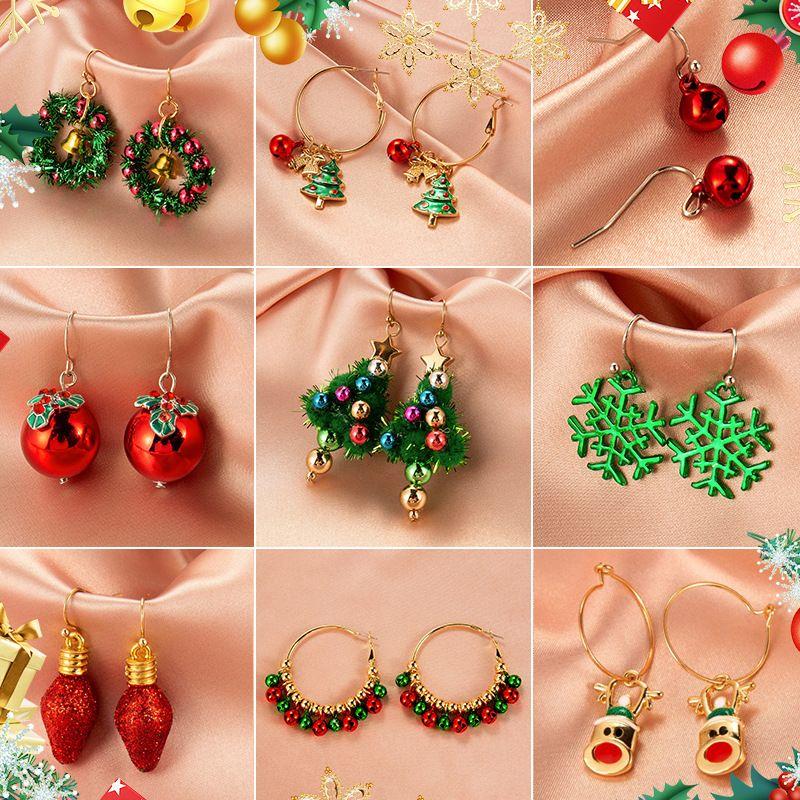 christmas earrings NHDP253123