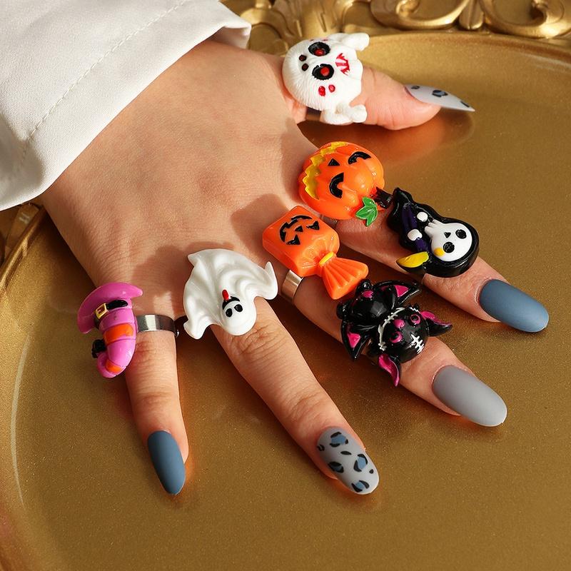 ghost pumpkin rings wholesale for halloween NHNZ415139