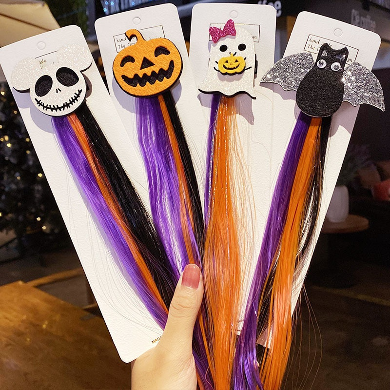 halloween colorful wig hair accessories NHNA416128