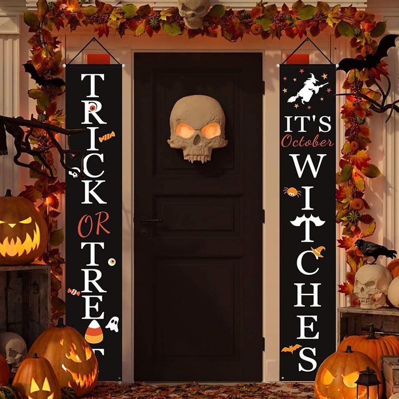 halloween door decoration NHHB399498