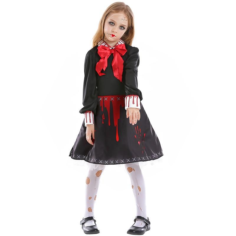 horror halloween dresses for little girl NHFE410374