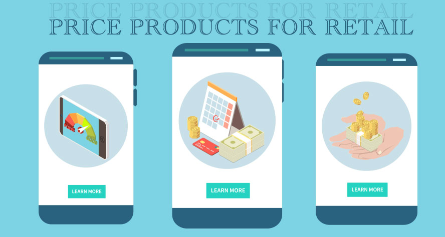 products pricing for retail online