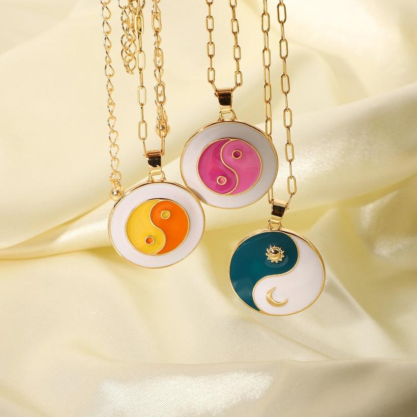 yin yang stainless steel jewelry NHJIE386999