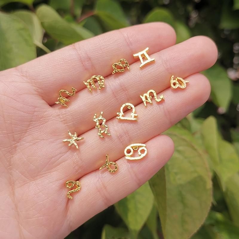 zodiac earrings NHYIA391219
